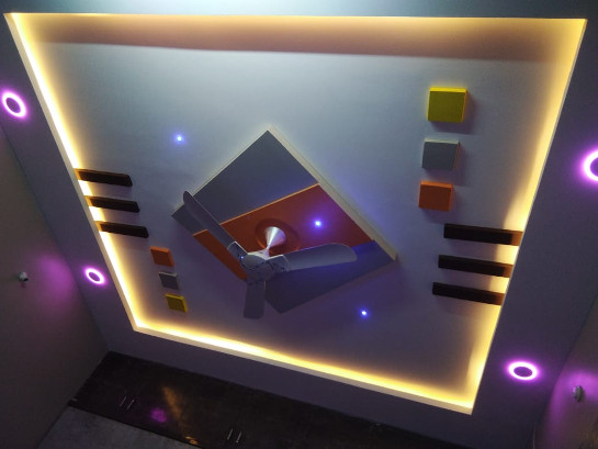 The False Ceiling Painting Case Study You'll Never Forget by ColourDrive
