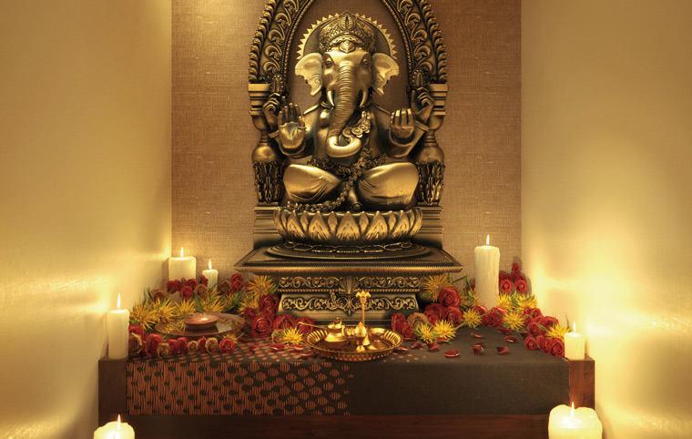 Colourdrive how can you decorate the pooja room for How we can decorate our home