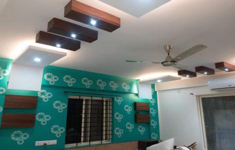 Modern Amazing False Ceiling Of Gypsum Pop Pvc Fiber Thermocol Ceiling Designs