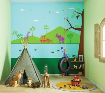 ColourDrive-Asian Paints Wild Encounters - Day View Kids Decor