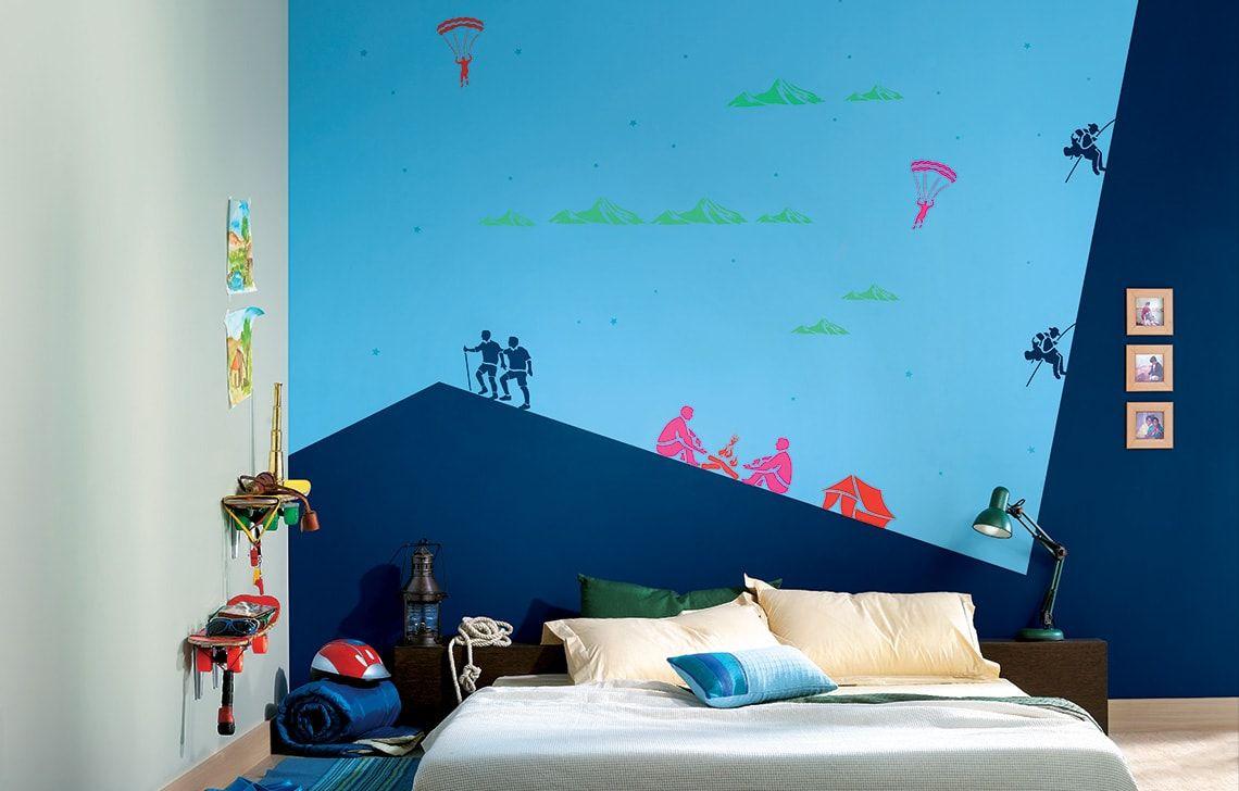 ColourDrive-Asian Paints Rock Climber - Day View Kids Decor