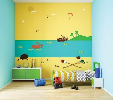 ColourDrive-Asian Paints Rush Hours - Day View Kids Decor