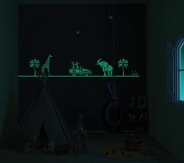 ColourDrive-Asian Paints Wild Encounters - Night View Kids Decor