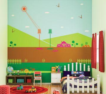 ColourDrive-Asian Paints Solar Energizer - Day View Kids Decor