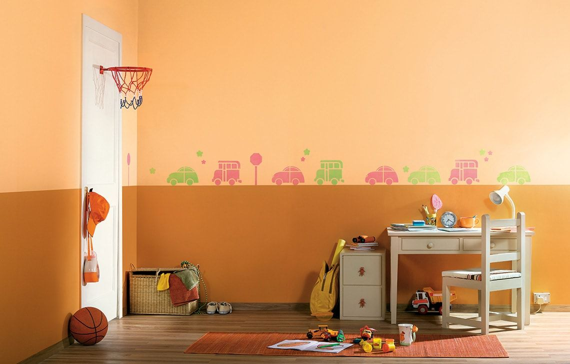 ColourDrive-Asian Paints Traffic Jam - Day View Kids Decor