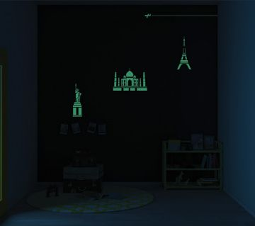 ColourDrive-Asian Paints Travel Trail - Night View Kids Decor