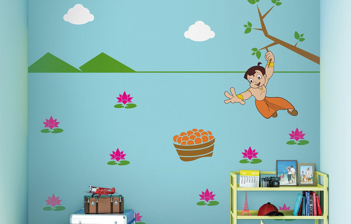ColourDrive-Asian Quest for Laddoos - Day View Kids Decor