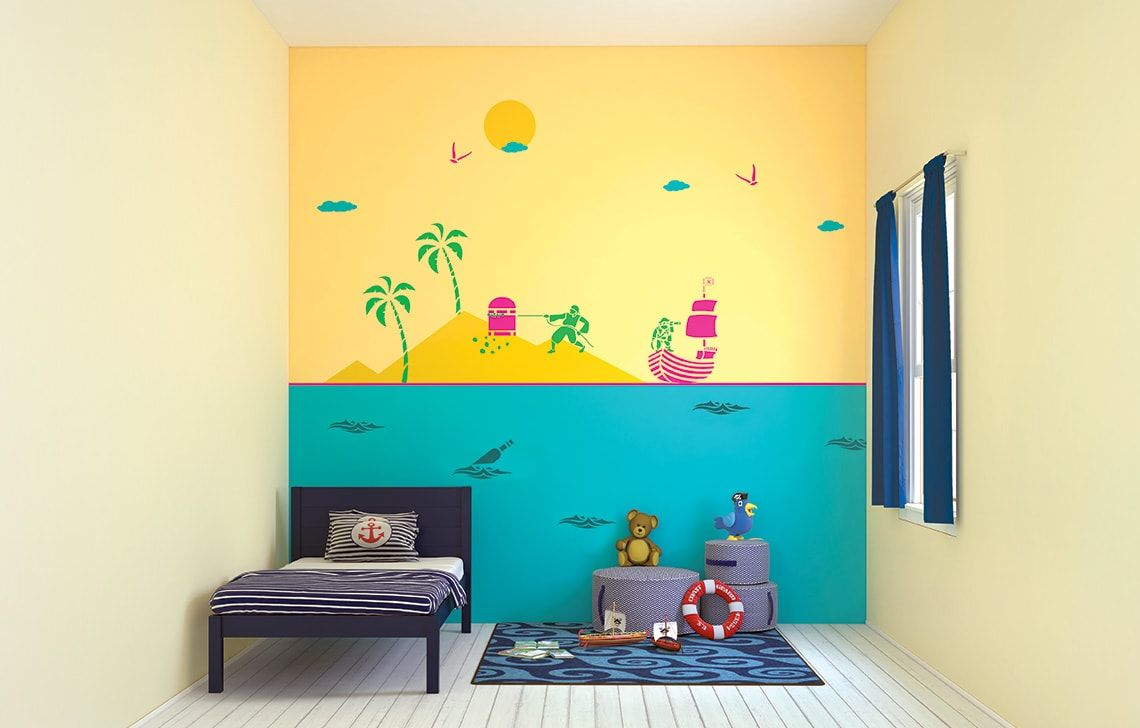 ColourDrive-Asian Paints Treasure Seekers - Day View Kids Decor