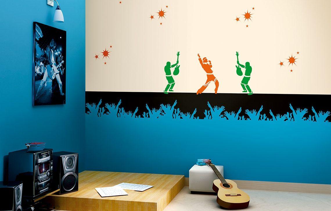 ColourDrive-Asian Paints Rock On - Day View Kids Decor