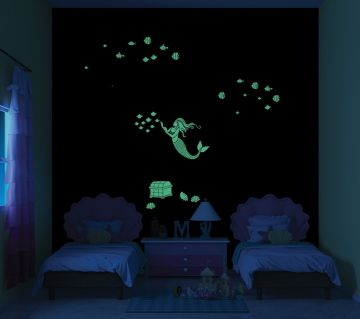 ColourDrive-Asian Paints Queen of the Seas - Night View Kids Decor