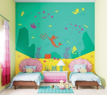 ColourDrive-Asian Paints Queen of Seas - Day View Kids Decor