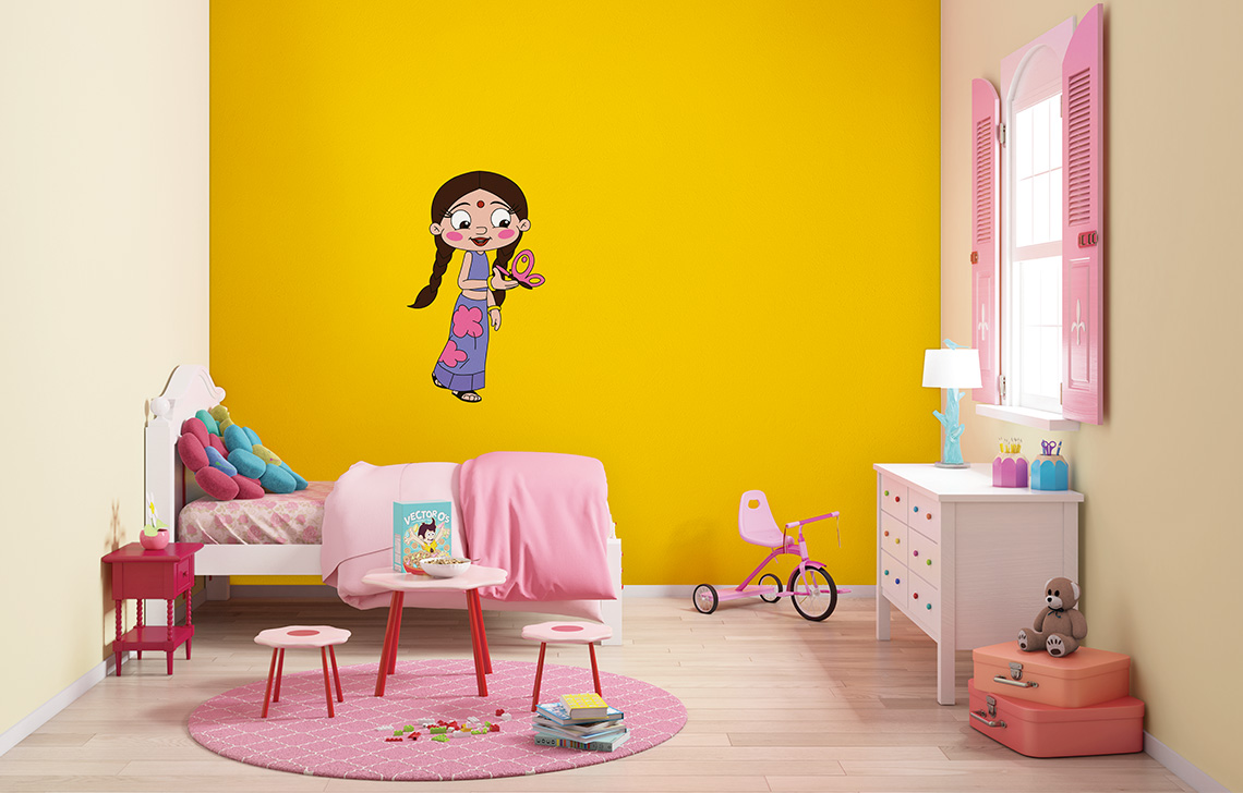 ColourDrive - Home Painting Services - Wall Kids Decor painting ...