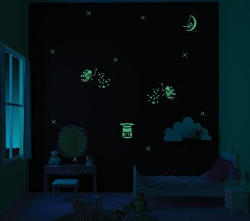 ColourDrive-Asian Paints Once Upon a time - Night View Kids Decor