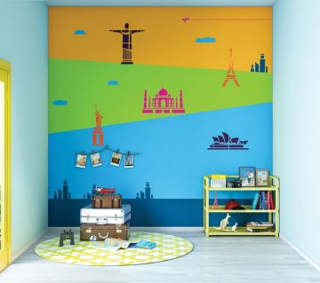ColourDrive-Asian Paints Travel Trails - Day View Kids Decor