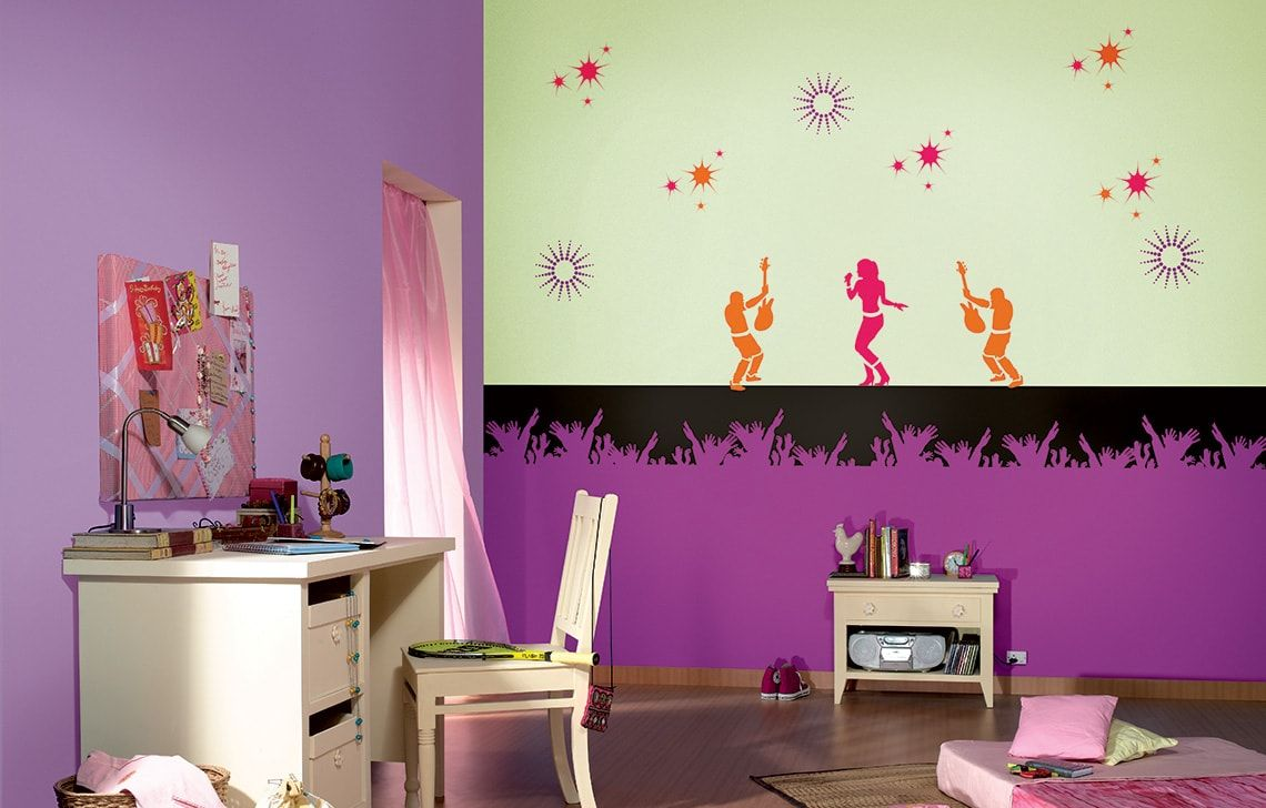 ColourDrive-Asian Paints Pricess of pop - Day View Kids Decor
