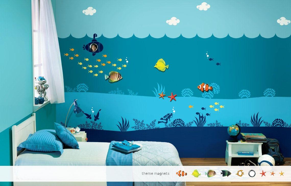 Royal Blue Room Design