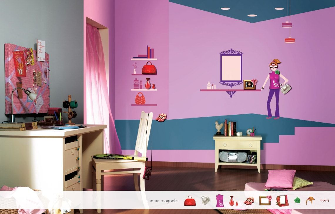 ColourDrive-Asian Paints Style Villa - Magnet View Kids Decor
