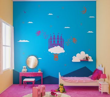 By Colourdrive Kid S Room Wall Painting Design Ideas Trendy Kids