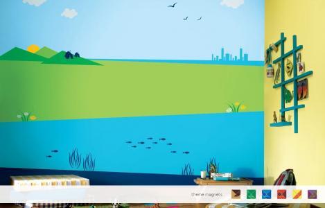 ColourDrive-Asian Paints Mind Benders - Non Magnet View