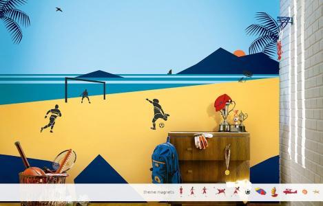 ColourDrive-Asian Paints Beach Time Fun - Non Magnet View