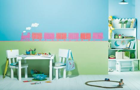 ColourDrive-Asian Paints Choo - Choo Train