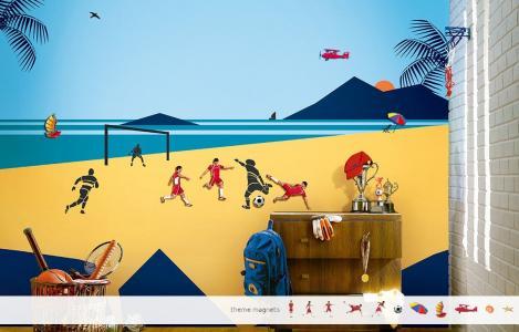ColourDrive-Asian Paints Beach Time Fun - Magnet View