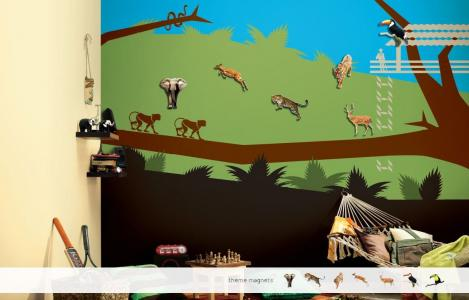 ColourDrive-Asian Paints Jungle Tales - Magnet View