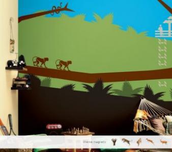 ColourDrive-Asian Paints Jungle Tales - Non Magnet View