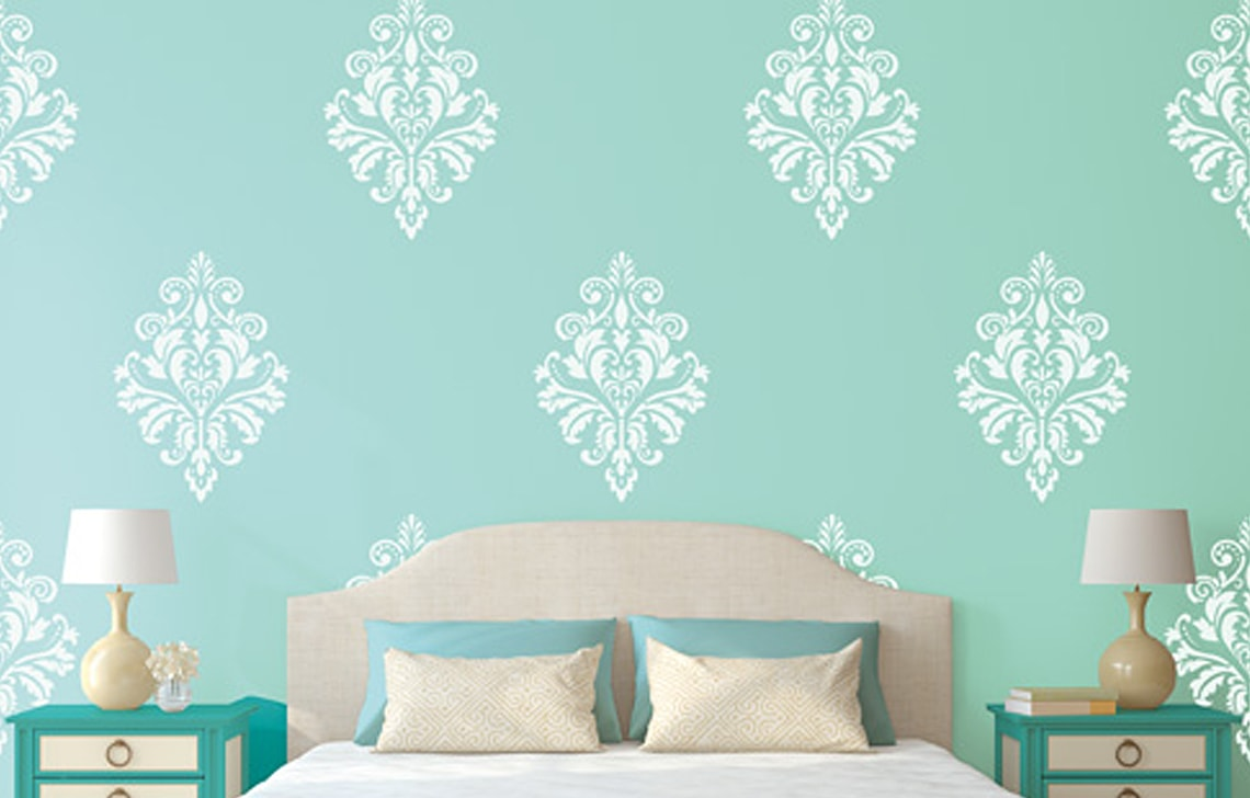 ColourDrive-Asian Paint Rich Tapestry Stencil