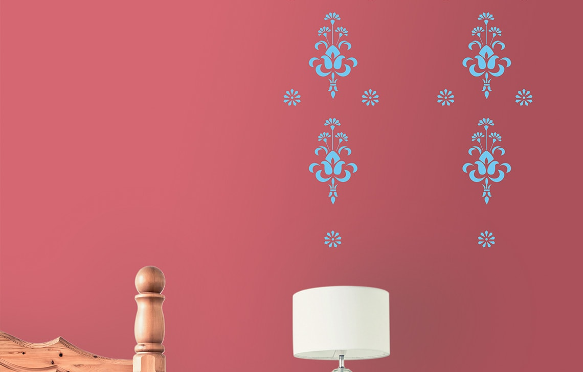 ColourDrive-Asian Paint Bouquet Stencil