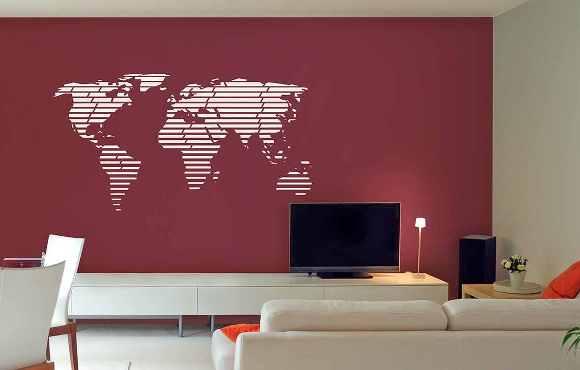 ColourDrive-Asian Paint Modern Mercator Stencil