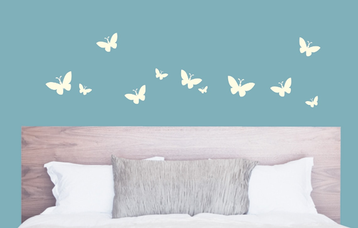 Asian Paint Butterfly Stencil By Colourdrive Wall Stencils Designs