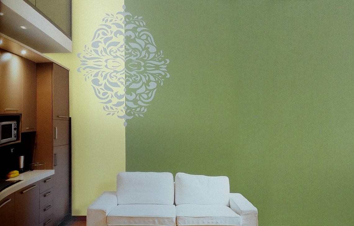 ColourDrive-Asian Paint Monarchy Stencil