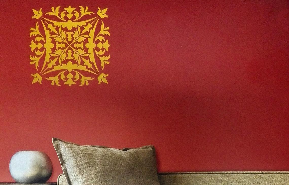 ColourDrive-Asian Paint Crest Stencil