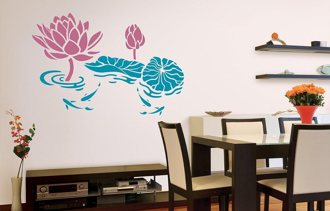 ColourDrive-Asian Paint Tranquil Lagoon Stencil