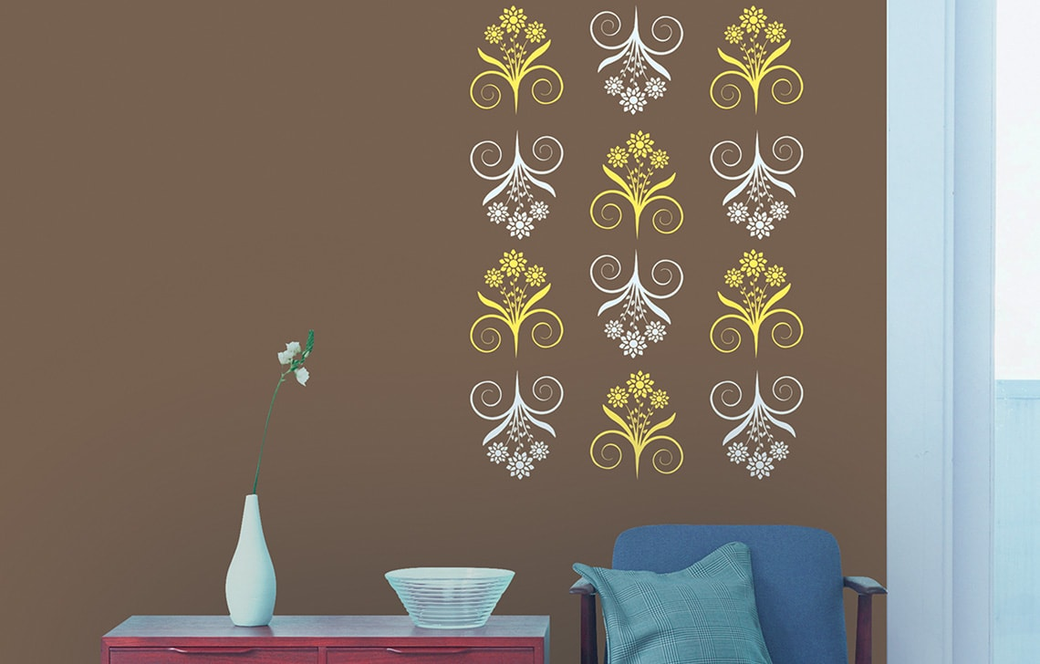 ColourDrive-Asian Paint Bliss Stencil