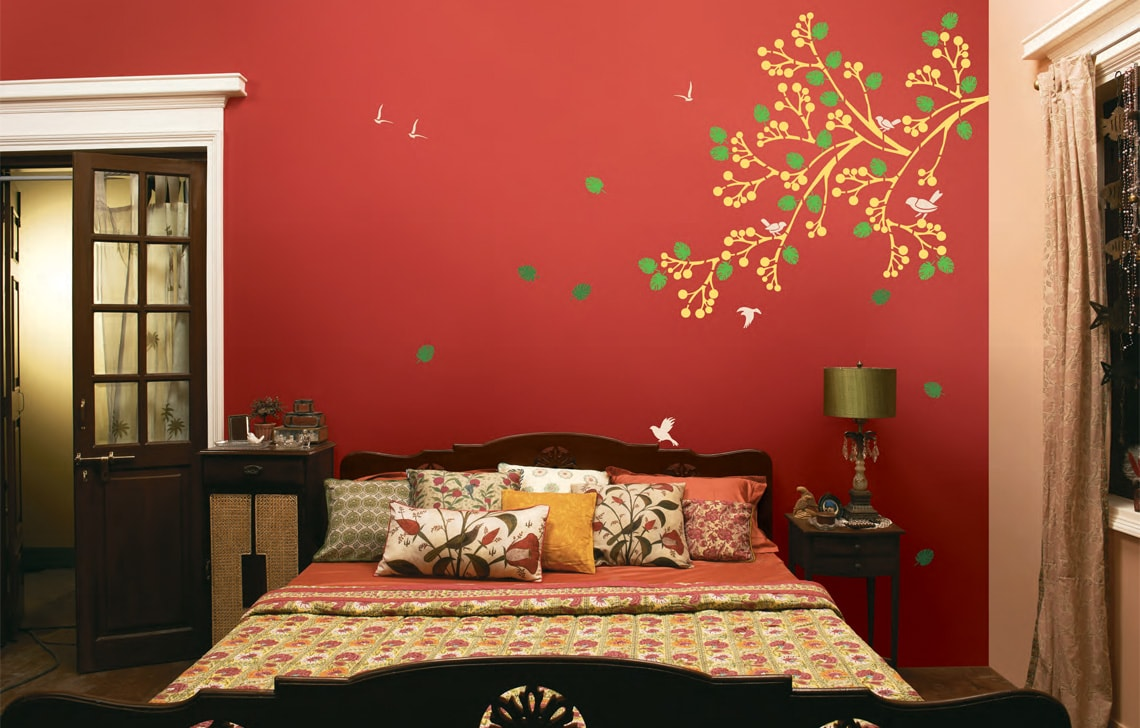 Asian Paints Interior Price List: Asian Paint Spring Diaries Stencil By ColourDrive