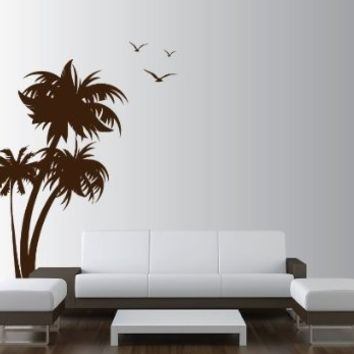 ColourDrive-Asian Paint Coconut Tree Stencil