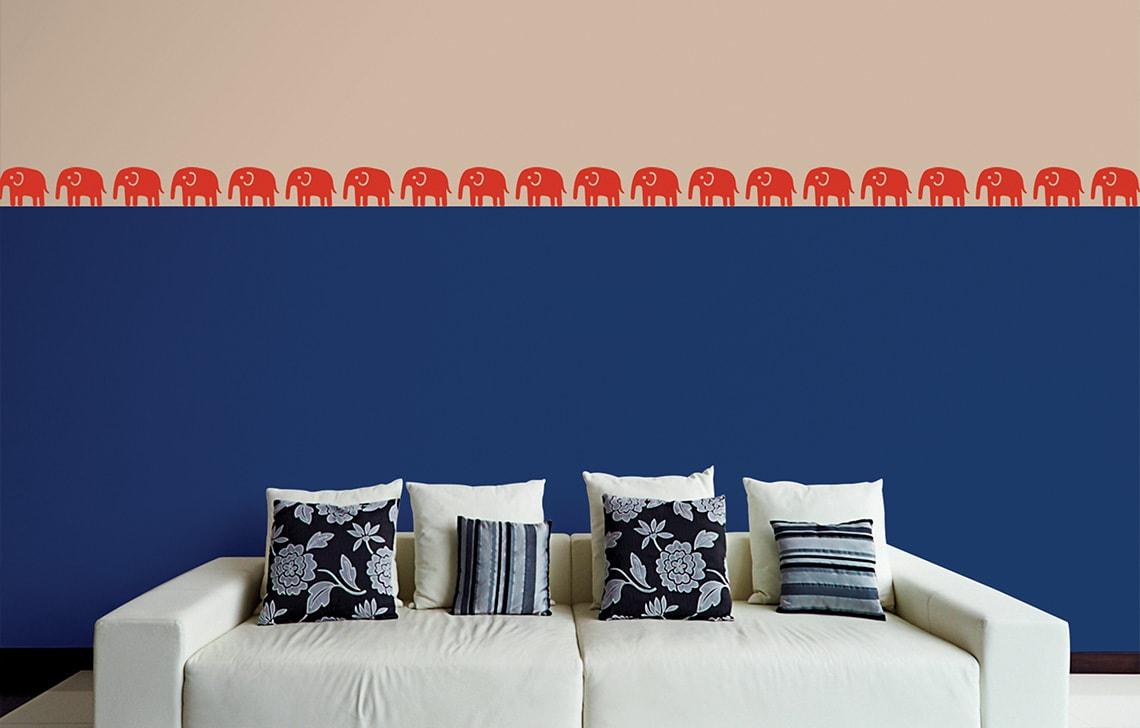 ColourDrive-Asian Paint Safari Stencil