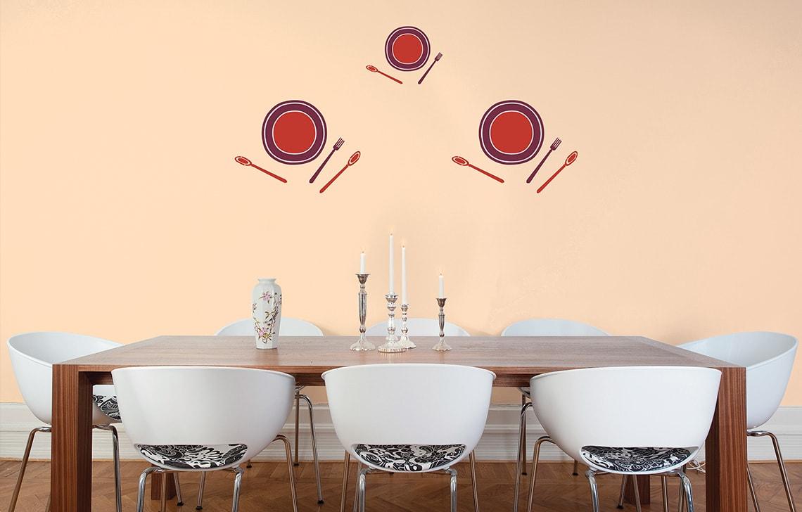 ColourDrive-Asian Paint Bon-Appetit Stencil