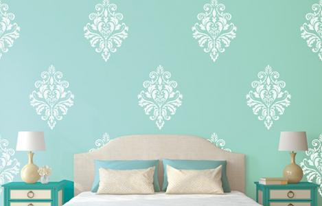 ColourDrive Home Painting Services Wall Stencil painting
