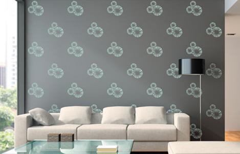 colourdrive home painting services wall stencil painting service