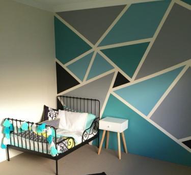 ColourDrive-ColourDrive Geometric Triangle stencil