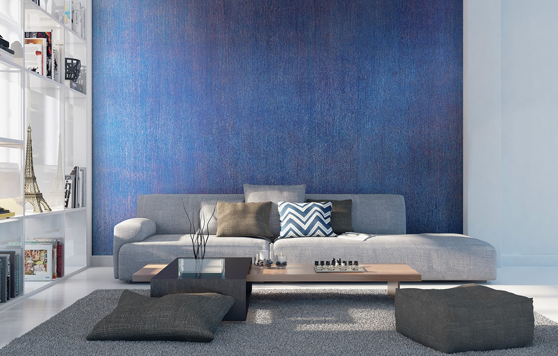 Asian Paints Royale Play  Torrent wall texture painting design for Study Room
