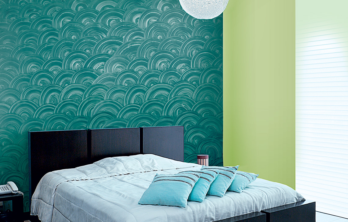 Colourdrive home painting service company for Asian paints textured wall decoration