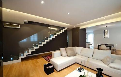 Smart gypsum ceiling