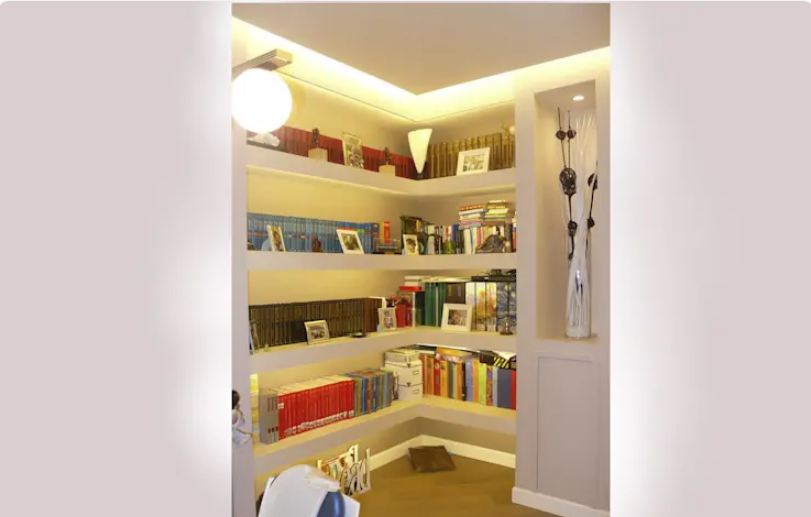 Ceiling and furniture in gypsum
