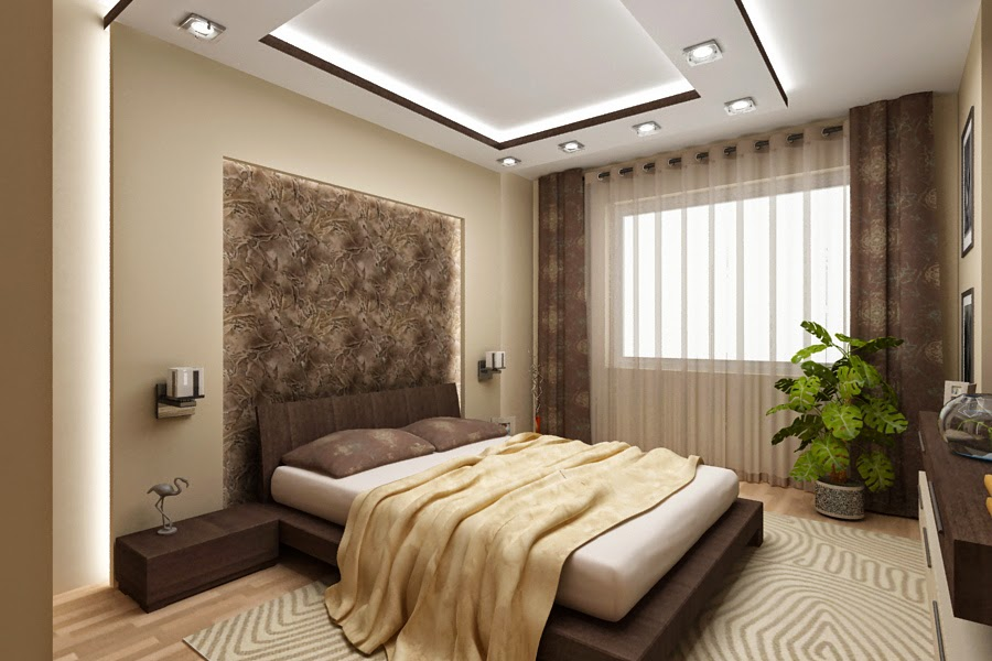 Bedroom false ceiling by ColourDrive | Painting ...