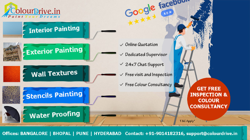 On time superfast, dustless painting by colourdrive