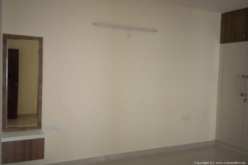 Rental Home Painting Project at HM World City Apartment, JP Nagar 8th Phase, Bangalore